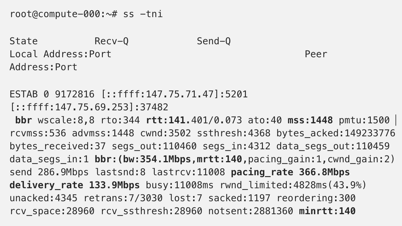 TCP BBR - Exploring TCP congestion control
