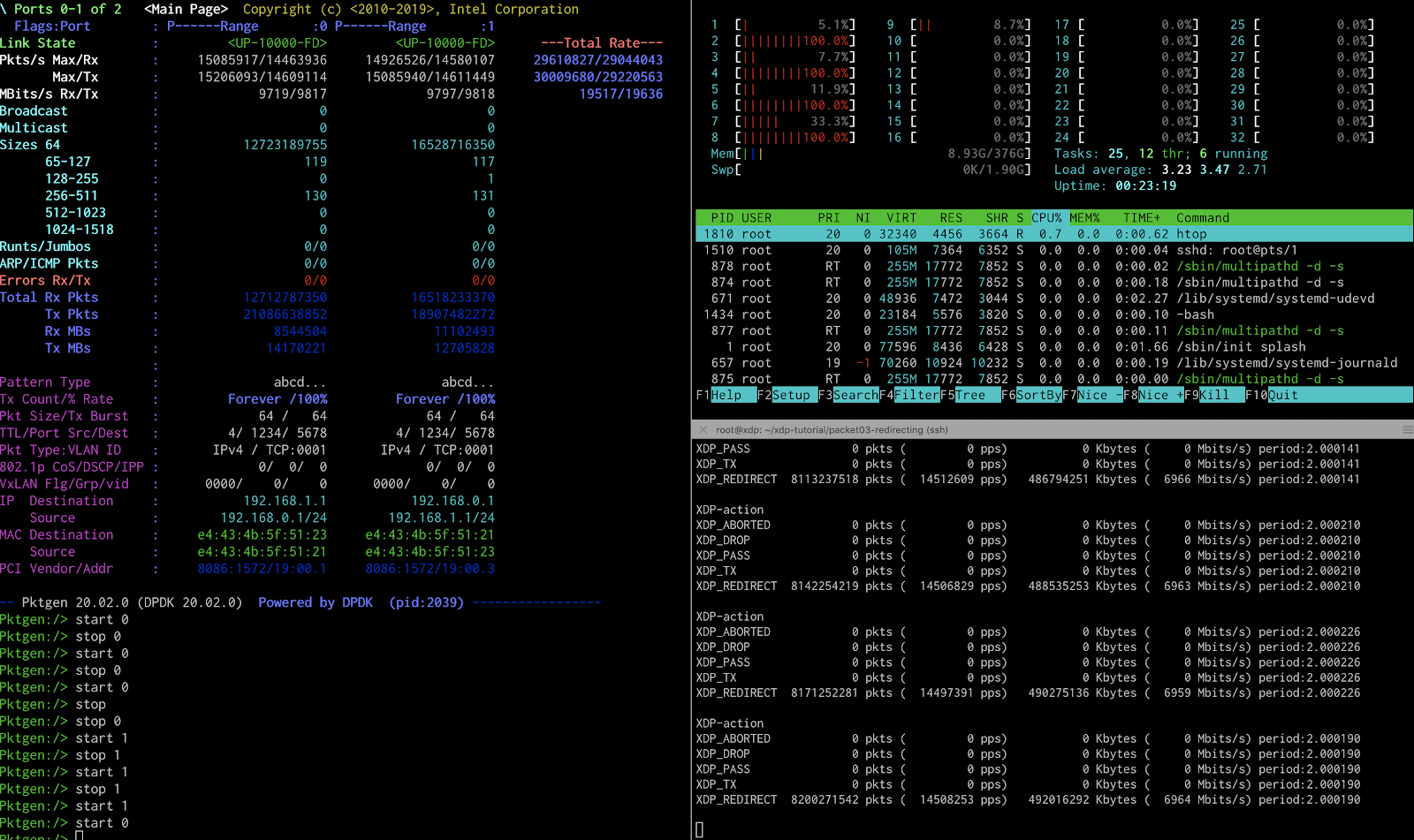 Building an XDP (eXpress Data Path) based BGP peering router